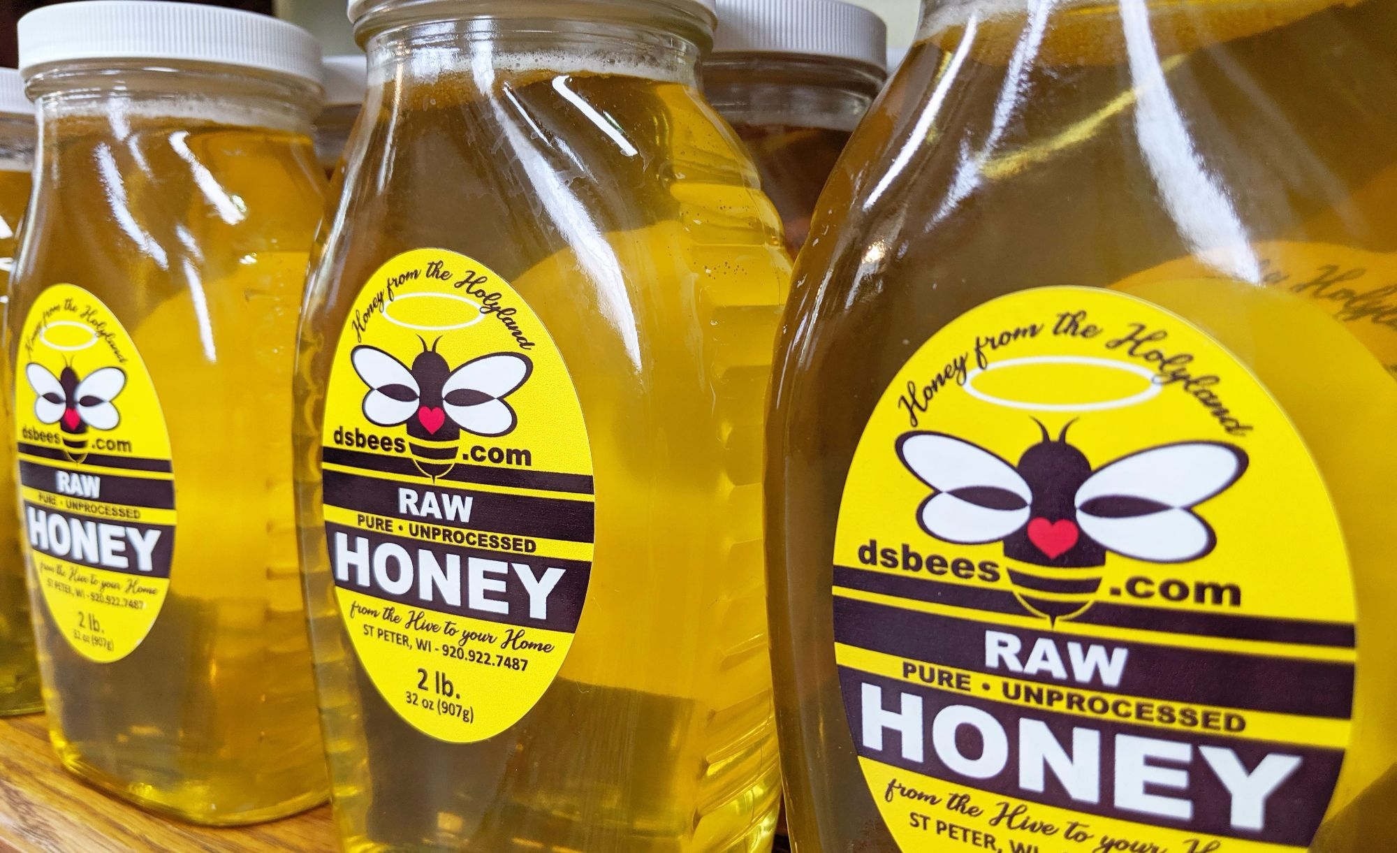 Raw Unprocessed Wisconsin Honey
