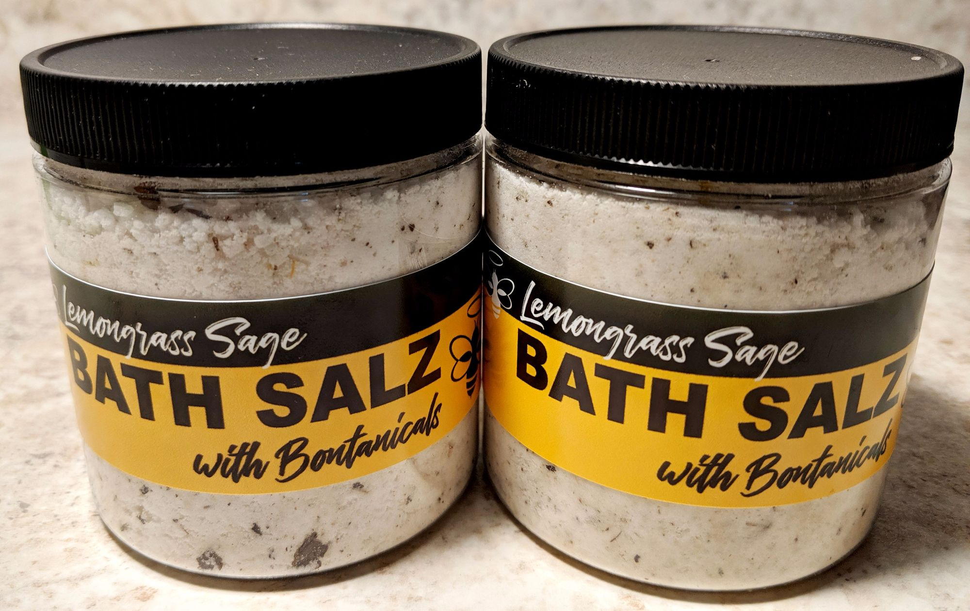 Bath Salts with Botanicals